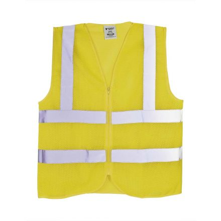 Interstate Safety 40460 High Visibility Safety Vest - Neon Yellow - Large